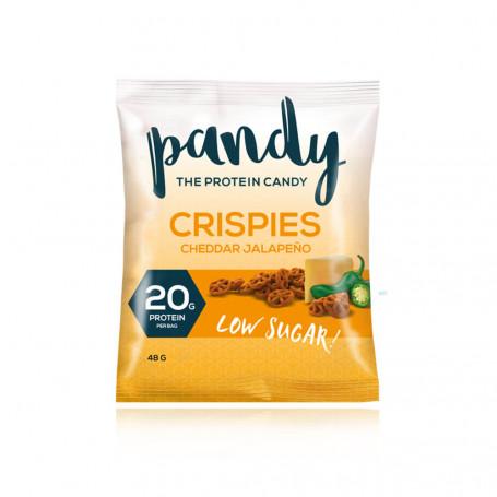 Pandy Crispies proteicos Cheddar JALAPEÑO (picante) -A la unidad