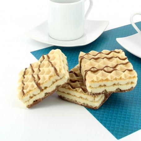 Gofres proteínas aroma Cookie & Cream Dietisnack