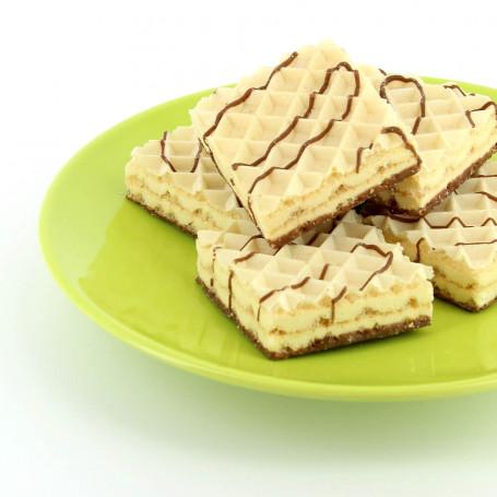 Gofres proteínas aroma Marshmallow Dietisnack