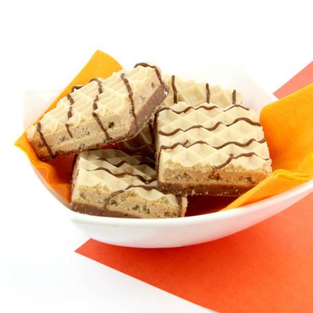 Gofres DietiSnack aroma chocolate con avellanas