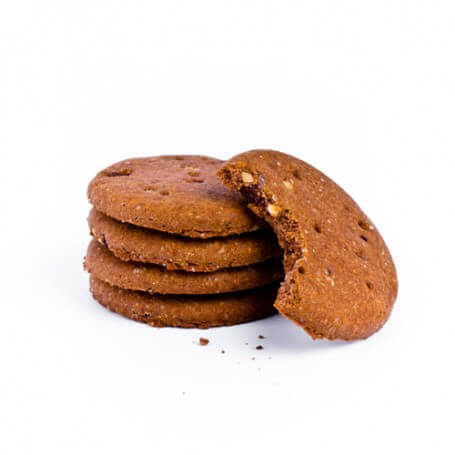 Galletas de chocolate con avellanass