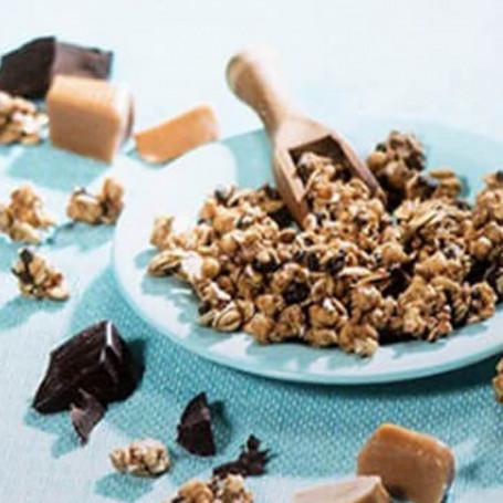 Muesli chocolate caramelo hiperproteico