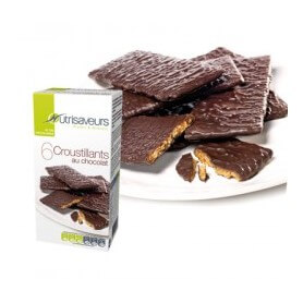 Crackers de chocolate