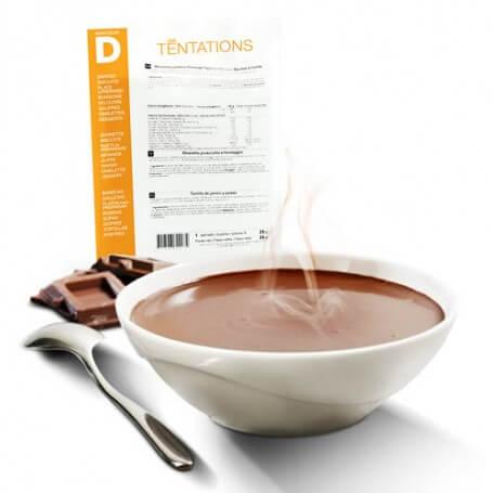 Bebida chocolate caliente