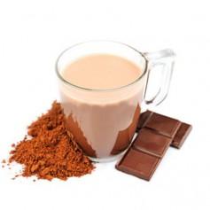 Bebida de chocolate caliente tradicional