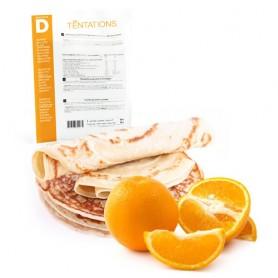 Crepe de naranja