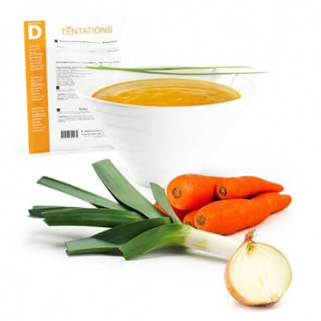 Crema de 3 verduras