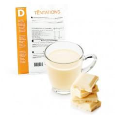 Bebida hiperproteica de chocolate blanco 7 sobres MinceurD