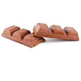 Tableta de Chocolate Negro Garapiñada
