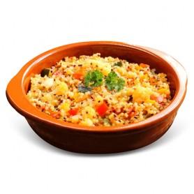 Tabulé de quinoa vegetariano