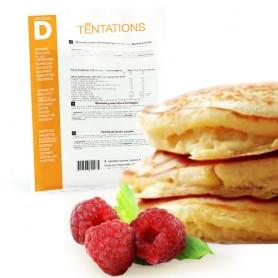 Pancake y jalea de frambuesa