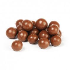 Bolitas de soja de chocolate