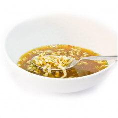 Caldo asiático con noodles proteico - MinceurD