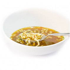 Caldo asiaticò con Noodles proteico- MinceurD