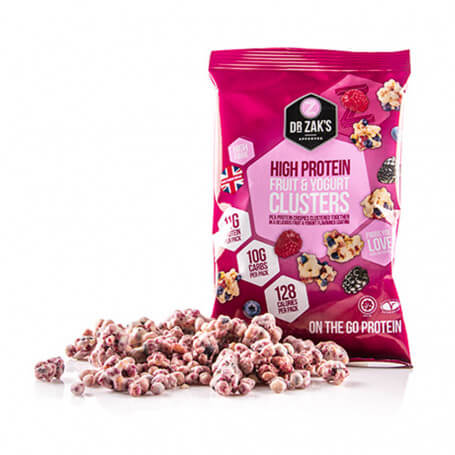 High Protein Clusters Yogurt con Frutos Rojos - Dr Zak's