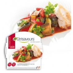 Filetes de pollo y panaché de hortaliza